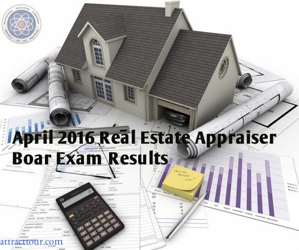 B K Kirby Real Estate Real Estate Appraisals: April 2016 Real Estate Appraiser Board Exam Results