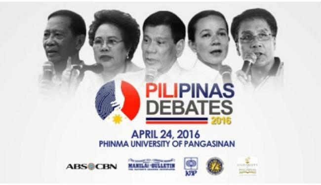Pili Pinas Debate 2016