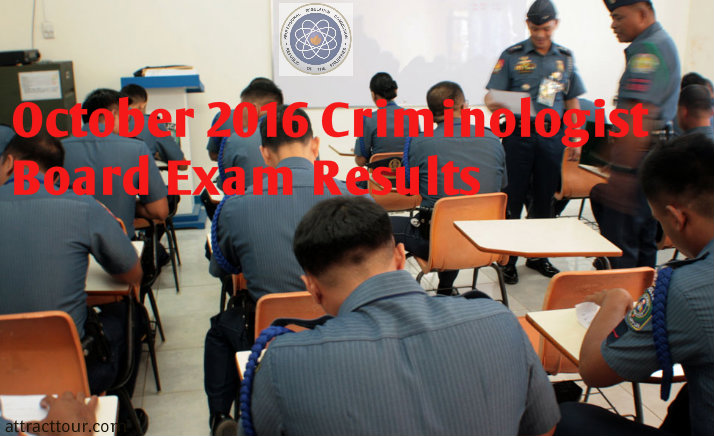 October 2016 Criminologist Board Exam Results Surname A To D