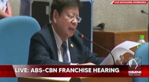 Full Video: Congressman Rodante Marcoleta Revealed in Details the ABS-CBN Violations