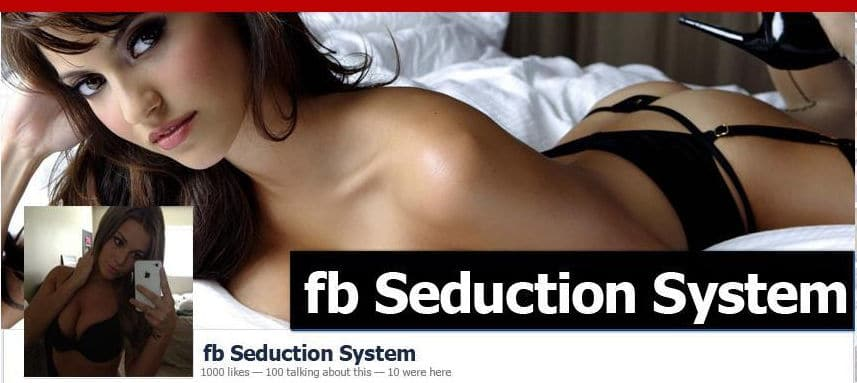 Facebook seduction system image