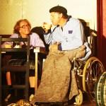 maintien à domicile des personnes âgées, spectacle