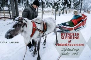 馴鹿拉雪橇-聖誕老人的故鄉最浪漫行程 及你所不知道的馴鹿秘密-零下30度玩翻北極圈