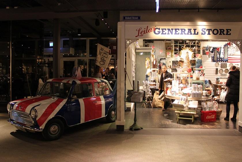 Ett nytt år, General Store Brittisk butik i Stockholm