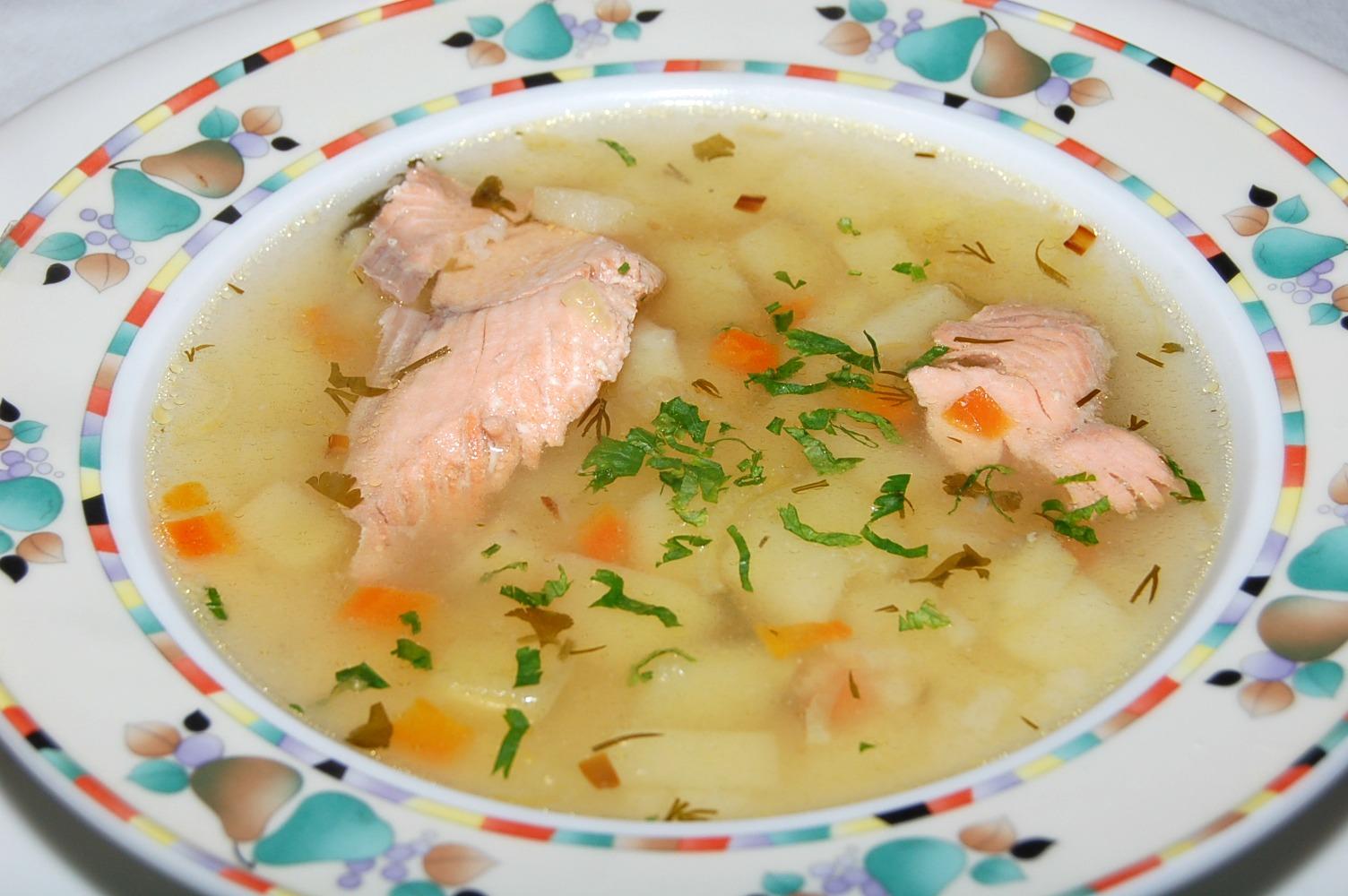 суп из свежей рыбы рецепт с фото умершей