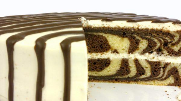 Торт «Зебра» — 10 рецептов в домашних условиях