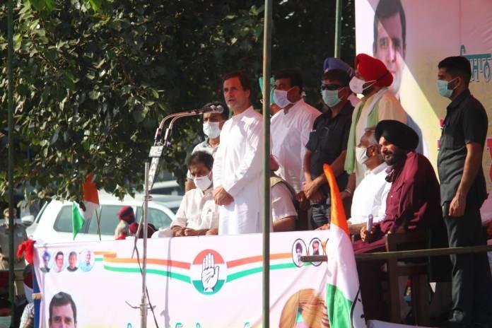 कांग्रेस किसानों को कॉरपोरेट का मजदूर नहीं बनने देगी: राहुल गांधी