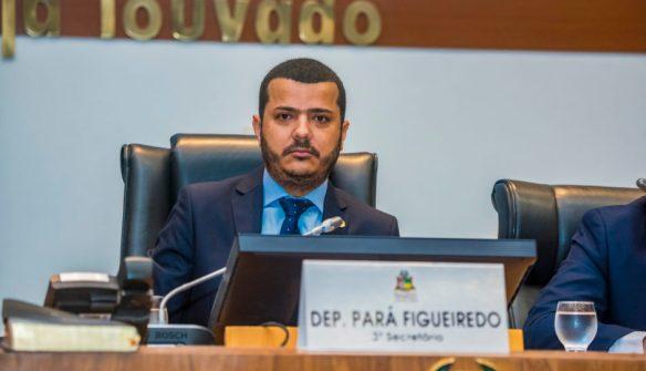MP Eleitoral pede cassação do mandato de Pará Figueiredo