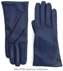 Saks Fifth Avenue Collection - Cashmere Lined Leather Gloves