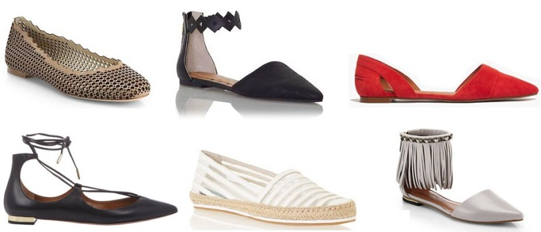 Six flats perfect for the Spring 2015 season.
