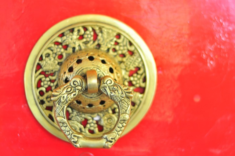 door handle in Tibet