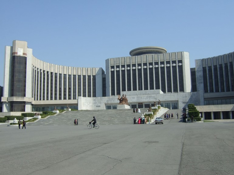 Mangyondae Schoolchildrens Palace in Pyongyang