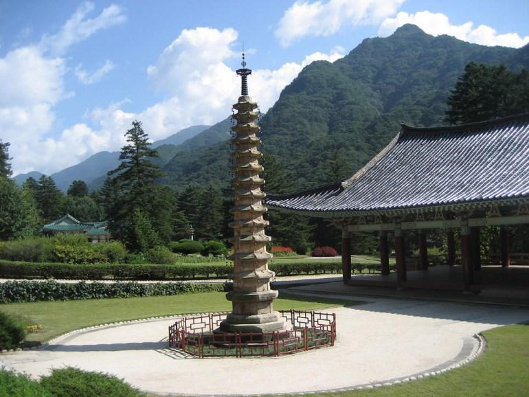 Pohyon Temple Mount Myohyang