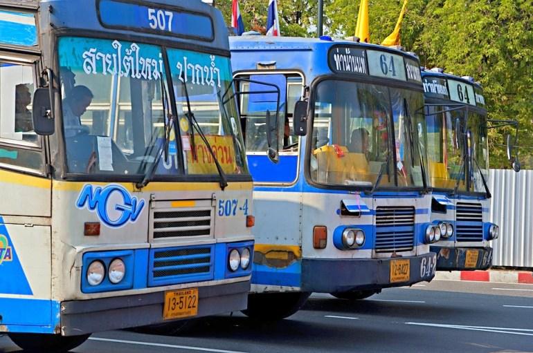 Bus in Thailand