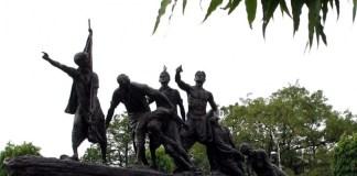 the martyr's memorial,patna