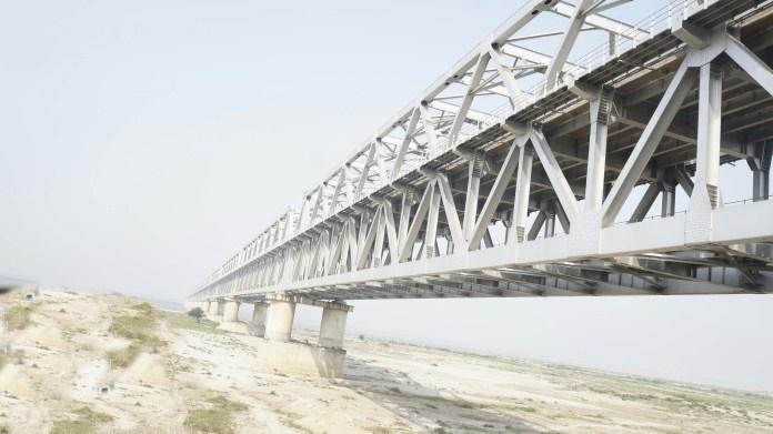 श्रीकृष्ण सेतु :जुड़वां शहरों मुंगेर-जमालपुर को उत्तर बिहार के विभिन्न जिलों में जोड़ता एक सेतु