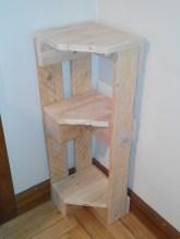 Mesilla con madera reciclada