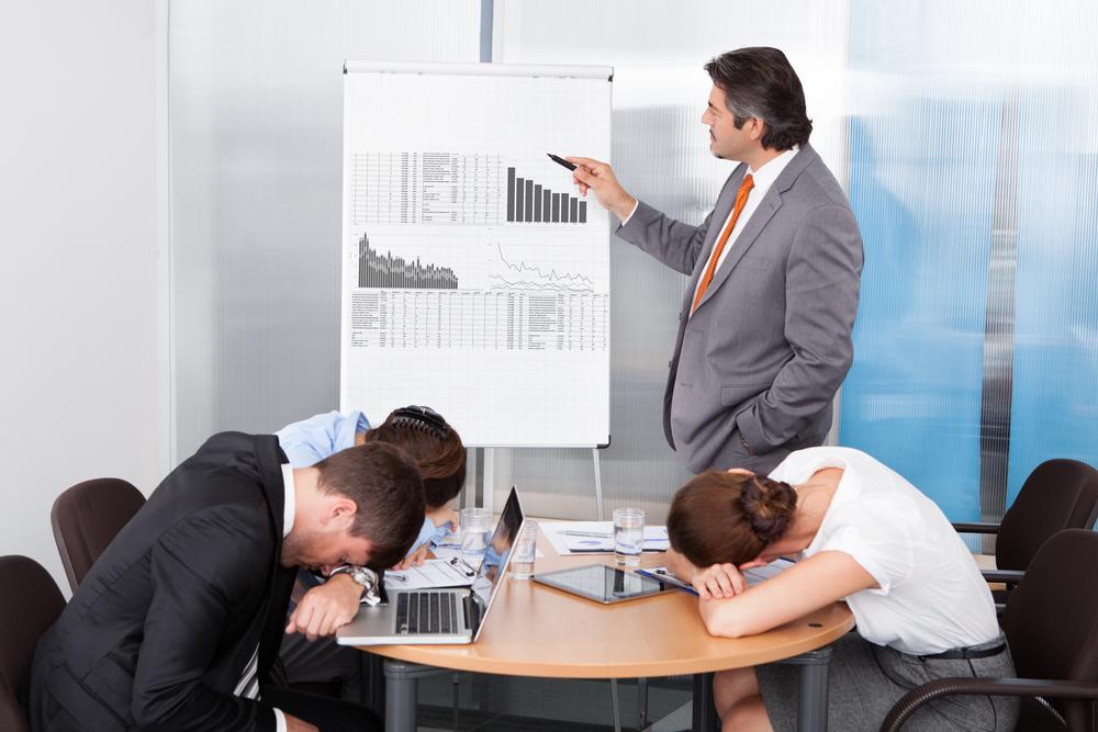 問題点を認めない会議や報告は士気が下がるだけで無駄である!