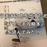 思うままに色を出すための『ブリーチ攻略本』を読んでみた!