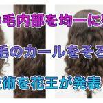 髪の毛内部を均一に整えくせ毛のカールをそろえる技術を花王が発表!