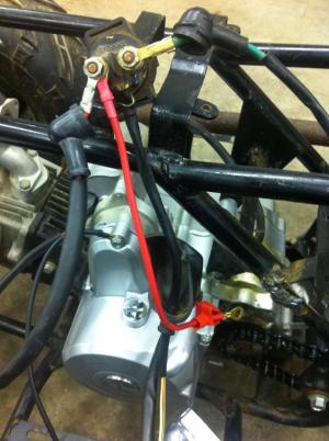 Tao Tao 110 Barebones Wiring Harness  ATVConnection