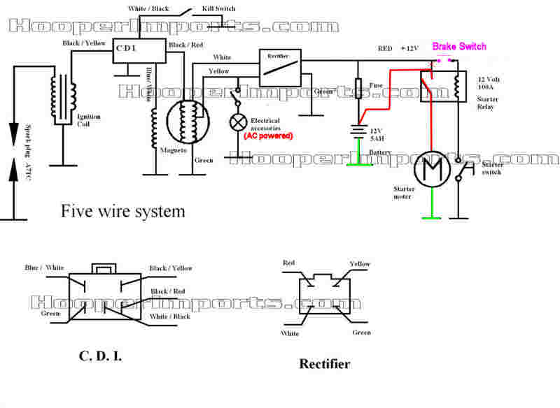 Diagram  Wiring Diagram Cdi Shogun 110 Full Version Hd Quality Shogun 110