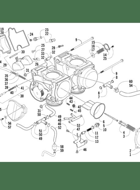 2001 Kawasaki Prairie 300 Wiring Diagram