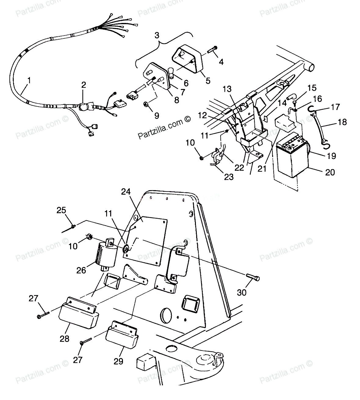 Parts For Polaris 425 Magnum 4x4