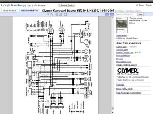 wiring diagram bayou 300 1987  Page 3  ATVConnection