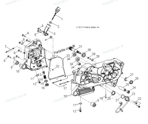 Polaris Outlaw 50 idle rev limit  wiring diagram