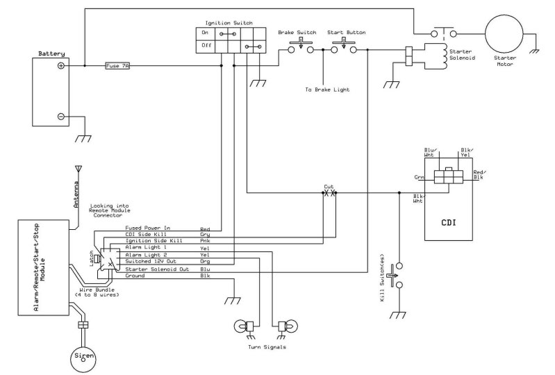 11164d1472527223 110cc remote wiring question remotewiring 1 ?resize=665%2C449&ssl=1 3050c loncin atv wiring diagram atv 100 wiring diagram, loncin 125Cc Chinese ATV Wiring Diagram at mifinder.co