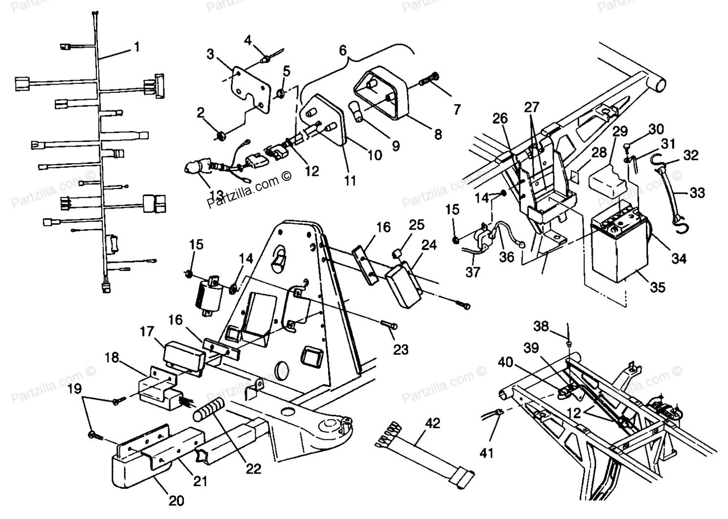 Honda 500 Foreman Swing Arm Parts Diagram Honda Auto