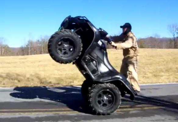Top Five ATV Wheelies Gone Awry - ATVConnection com
