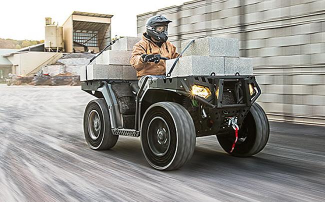 Polaris Brings Military ATV to the Masses - ATVConnection com