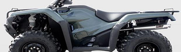 HMF Releases 2014 Honda Rancher 420 Exhaust - ATVConnection com
