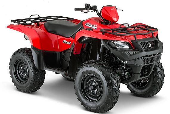 2015 Suzuki King Quad ATV Models Released - ATVConnection com