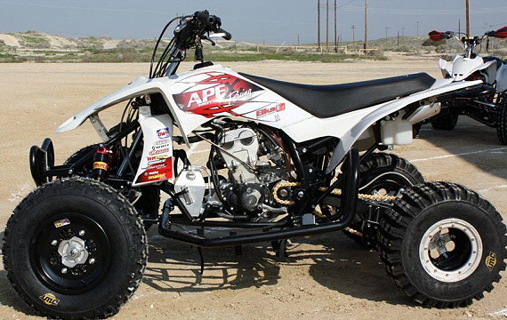Meet the Apex 450F: An ATV Racer's Dream Come True