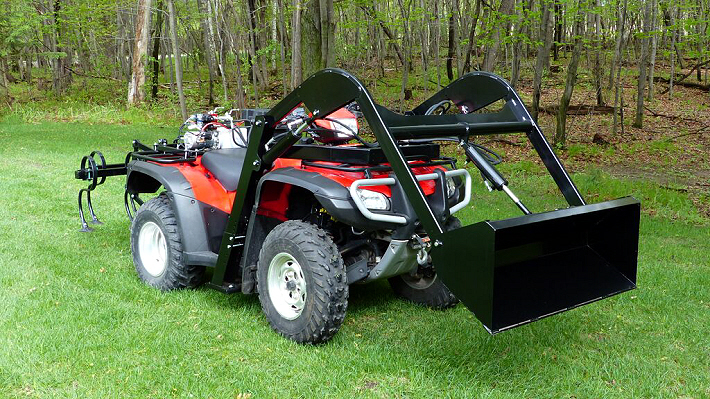 Fully Hydraulic Atv Implement System From Wild Hare Mfg