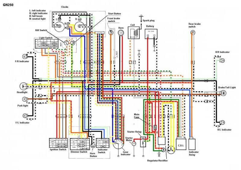 Ask The Editors  Baja 300 Wiring Diagram Help