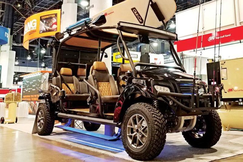 Club Car Prototypes Street Legal Side By Side