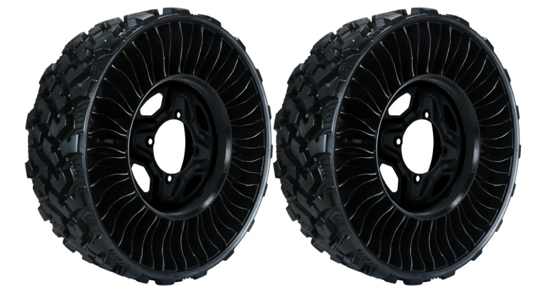 michelin tweel airless tire wheel finally arrives. Black Bedroom Furniture Sets. Home Design Ideas