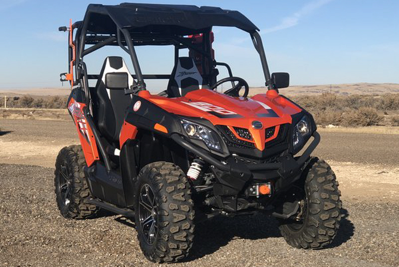 Weekly Used ATV Deal: Trade Show CF Moto Z-Force SxS - ATVConnection com
