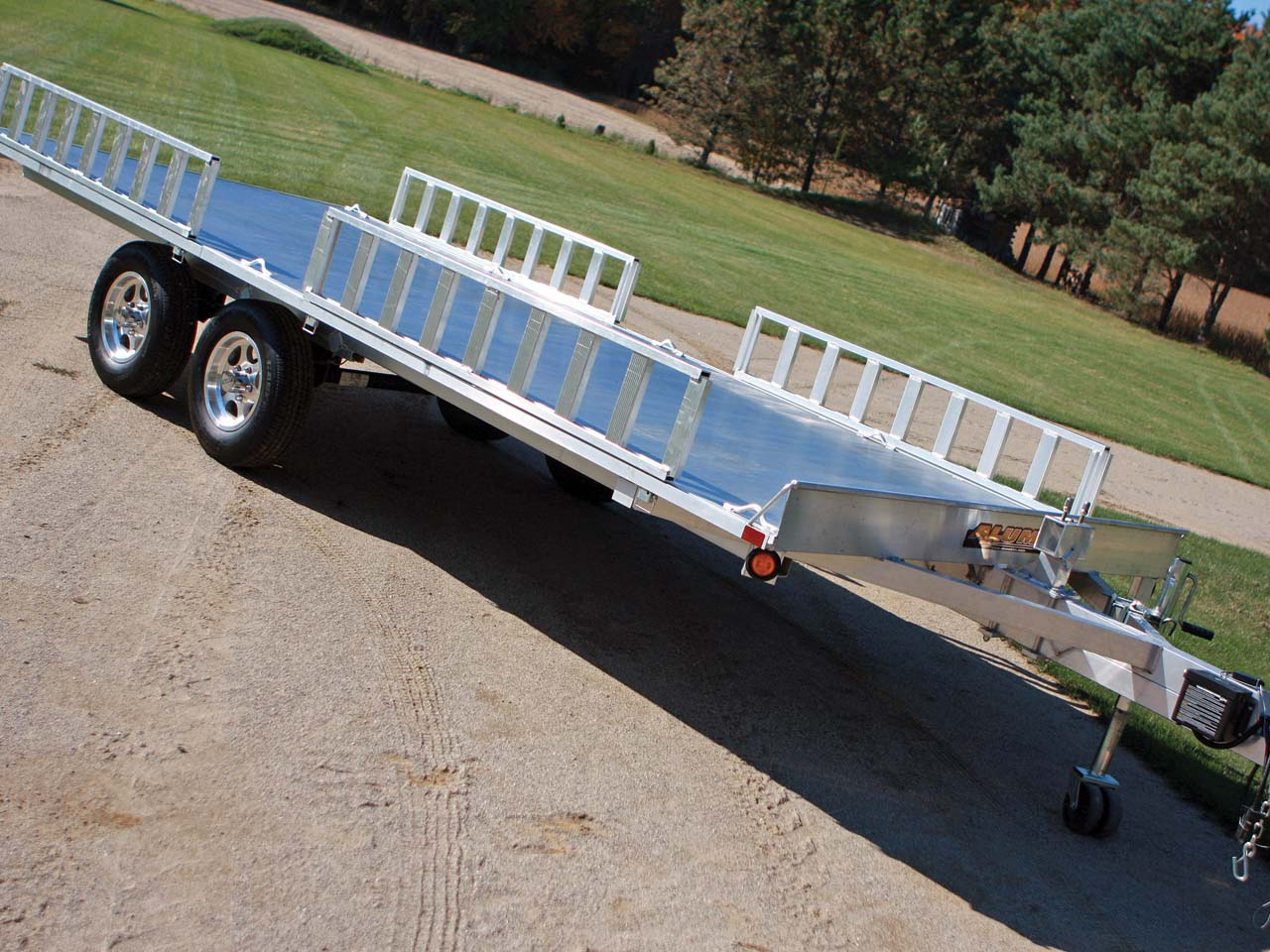 how to make a utility trailer axle