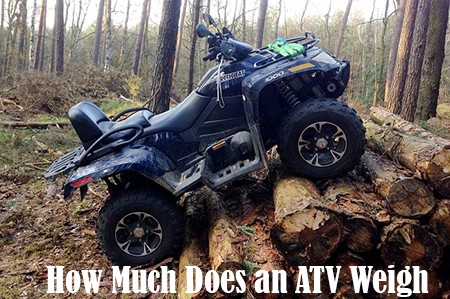 How Much Does an ATV Weigh? Your Complete Guide by Size (cc) – ATV Man