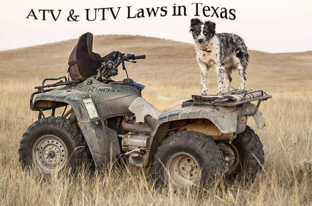 Guide to the ATV and UTV Laws in Texas