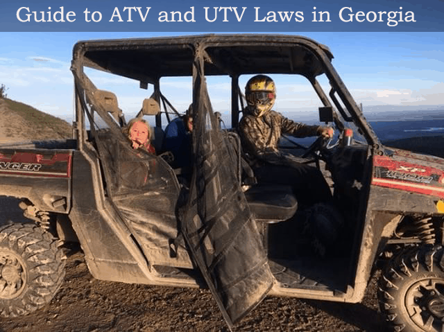Guide to the ATV and UTV Laws in Georgia