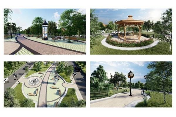 В Ставрополе в будущем сквере с фонтаном в 204 квартале ...
