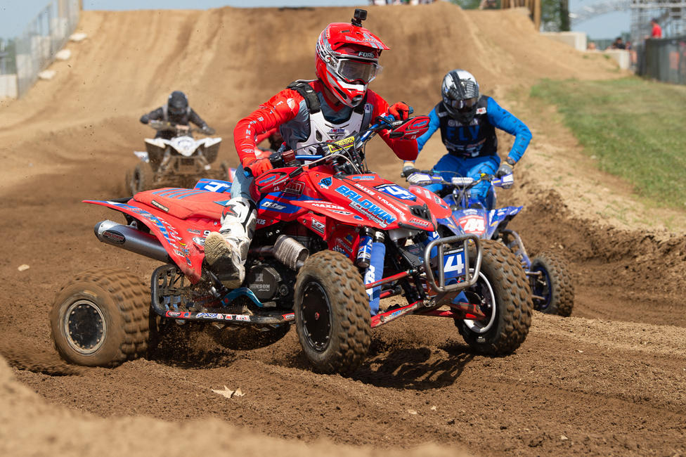Bryce Ford went 5-4 to clinch fourth overall in Michigan. PC: Ken Hill