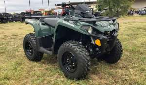 2021 CAN AM Outlander 450 Can-Am is a newcomer to the UK market, but it's already starting to make a good impression. The Outlander 450 is one of the most comfortable bikes, with a lightweight electric throttle, smooth drive, and luxurious suspension.