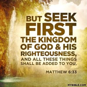 Matthew 6-33